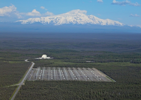 The High Frequency Active Auroral Research Program site, Gakona, Alaska.