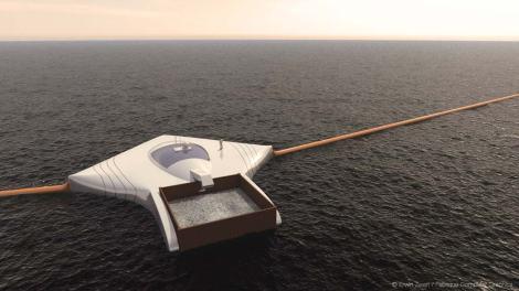 Un estudiante de 19 años inventa un sistema para limpiar los océanos de plástico