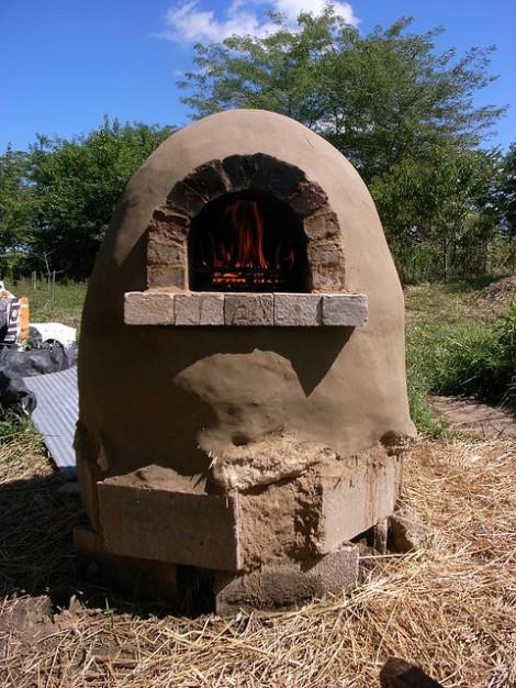 Construye tu propio horno exterior de tierra