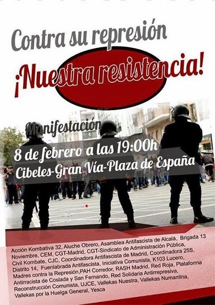 Este-sábado-manifestación-contra-la-'Ley-Mordaza'