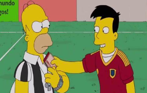 La 'marca España' llega a Los Simpson