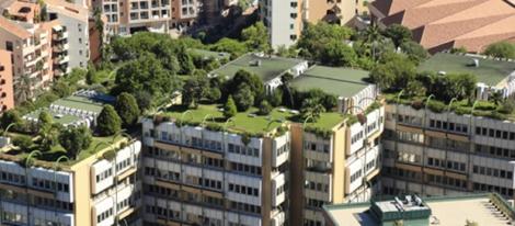 Los techos verdes son obligatorios ahora en Copenhague