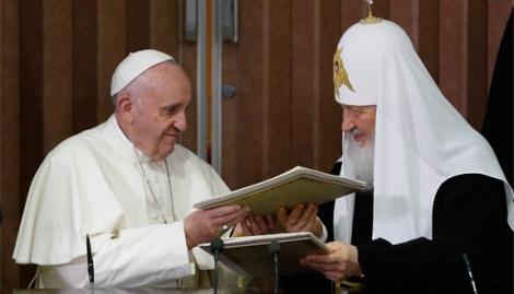 Declaración conjunta de Francisco y el Patriarca Kirill